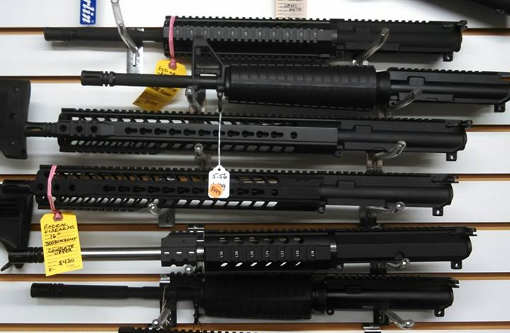IN STOCK- We just received several NEW Complete upper receivers. 7.5 inch and 10.5 pistol uppers and 16 inch rifle uppers. All with bolt carrier group and charging handle. 5.56 and 300 Blackout. Starting at $430.